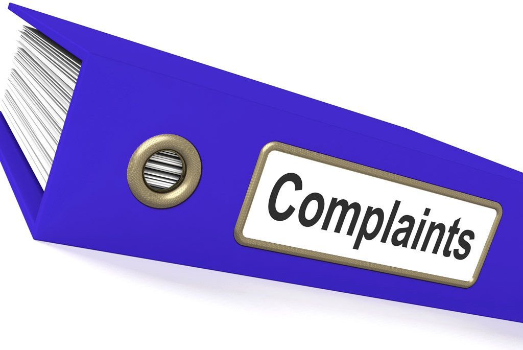 Manage complaints of recalled products in inventory management software