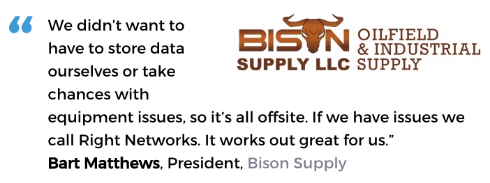 Acctivate hosted inventory management software user, Bison Supply