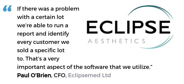 Acctivate user, Eclipsemed Ltd