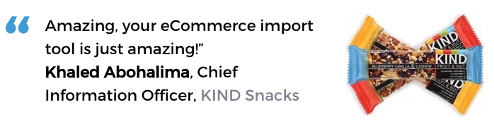 Acctivate for QuickBooks warehouse software user, KIND Snacks