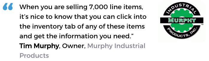 Inventory control management software user, Murphy Industrial Products