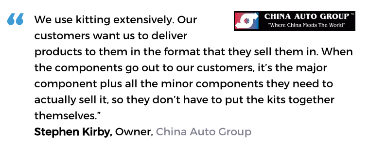 Acctivate inventory software user, China Auto Group