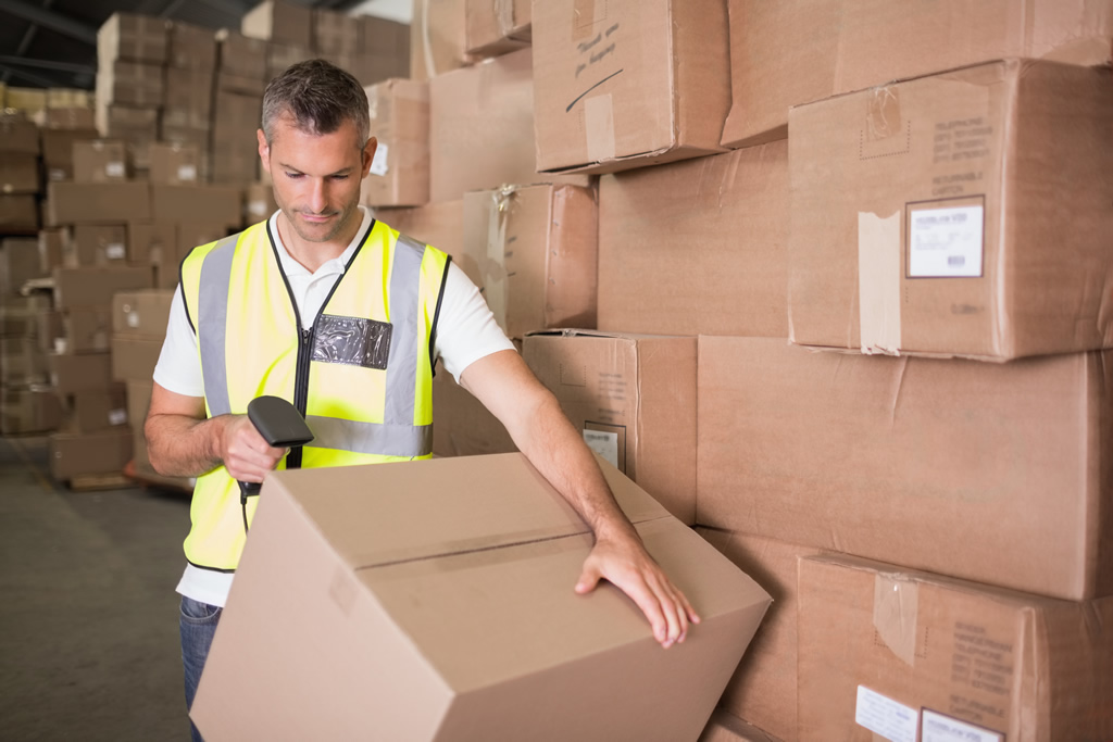 Using barcodes for warehousing management