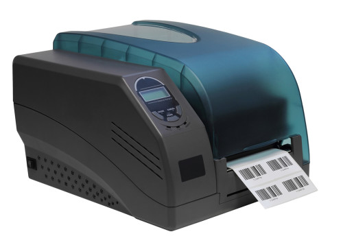 Barcoding system software in the warehouse: printing barcode labels