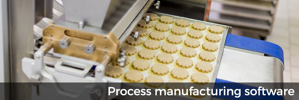 Batch manufacturing / process manufacturing software