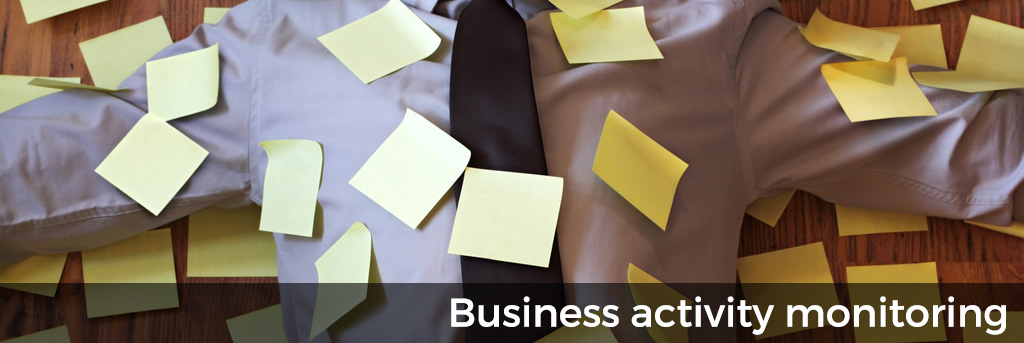 Business activity monitoring with alerts