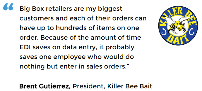 EDI Software Solution user - Killer Bee Bait