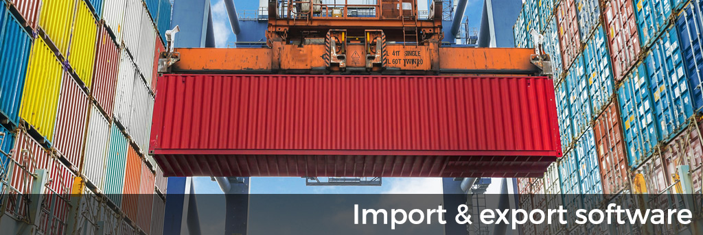 Import export software for QuickBooks®