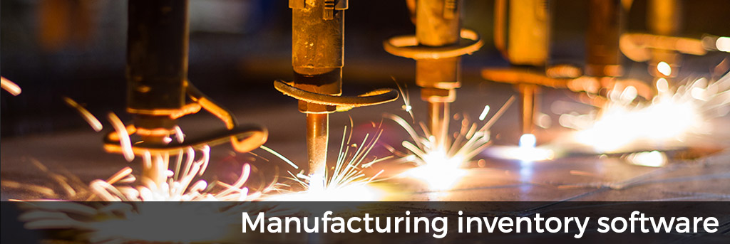 Manufacturing inventory software
