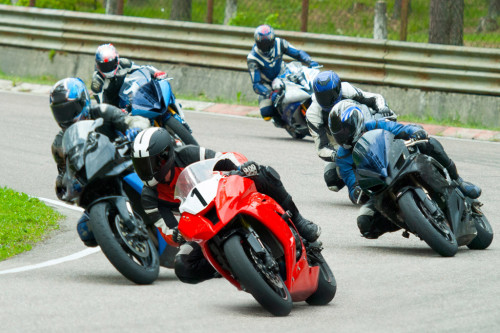 Motorcycle parts distributor for racers