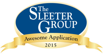 The Sleeter Group Awesome Application award 2015