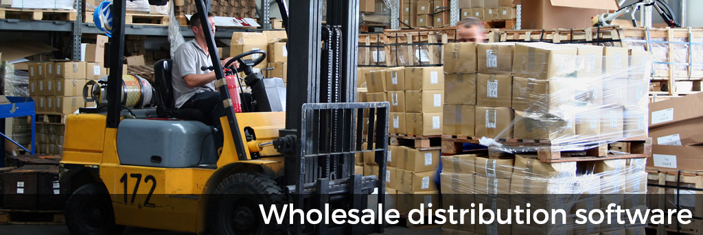 Wholesale distribution software