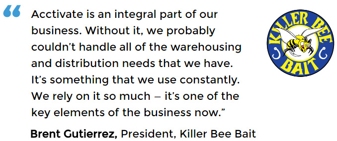 Wholesale distribution software user - Killer Bee Bait