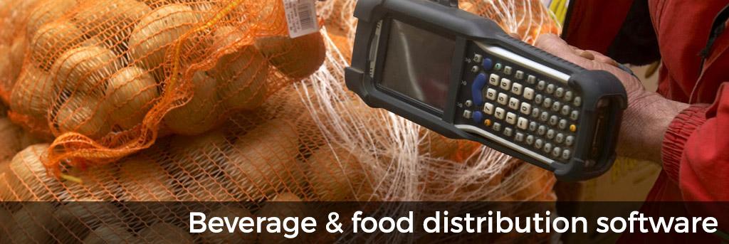 Beverage & food distribution software