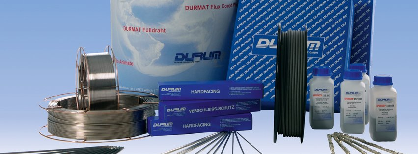 Durum USA, manufacturer of welding and hardfacing wires and powders