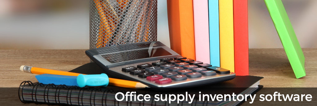 Office supply inventory software