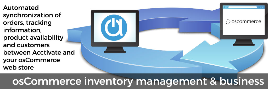 osCommerce inventory management & business tools for ecommerce