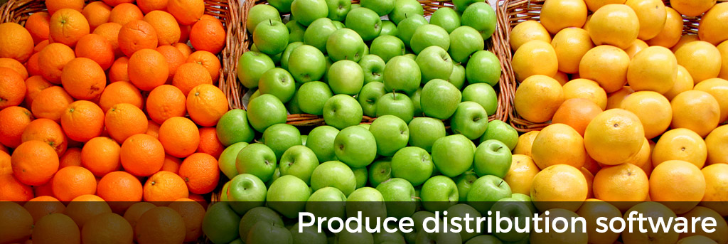 Produce distribution software