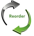 Handle reorders with the push of a button