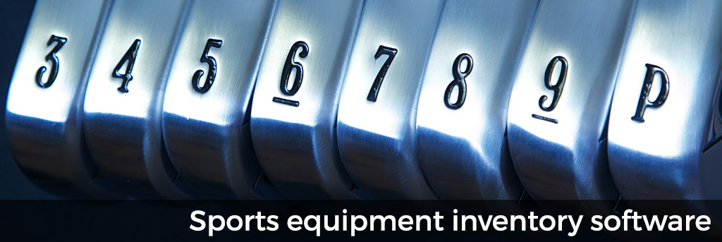 Sports equipment inventory software