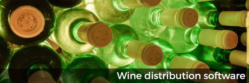 Wine distribution software