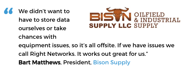 Acctivate cloud-based inventory management user, Bison Supply