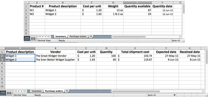 Free inventory template + how to track and count physical inventory.