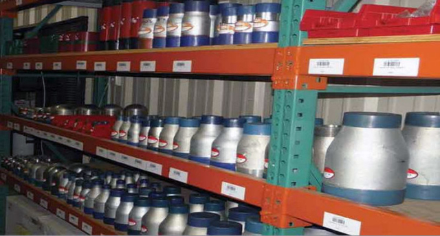 Bison Supply customer warehouse