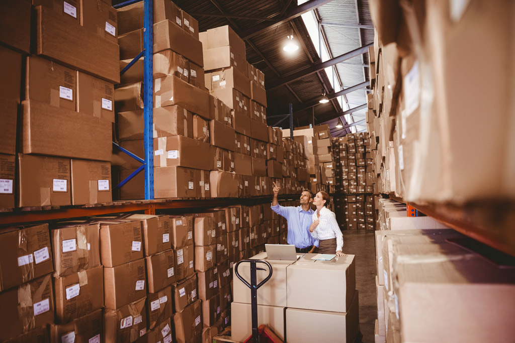 A warehouse inventory system solves warehouse management woes