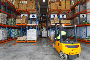 mobile inventory management and warehouse organization