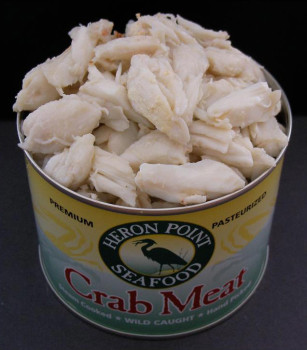 Heron Point Seafood premium crab meat