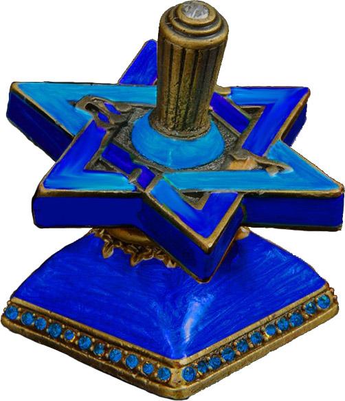 Jewish Educational Toys Dreidel jeweled