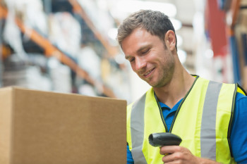 Mobile barcoding for automated inventory management