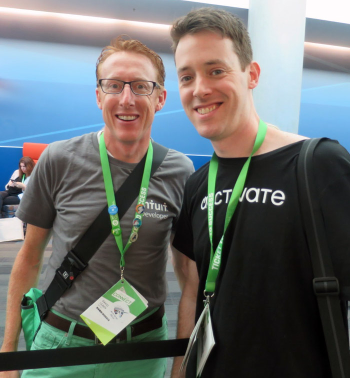 QuickBooks Connect 2015 with David Leary of Intuit Developer