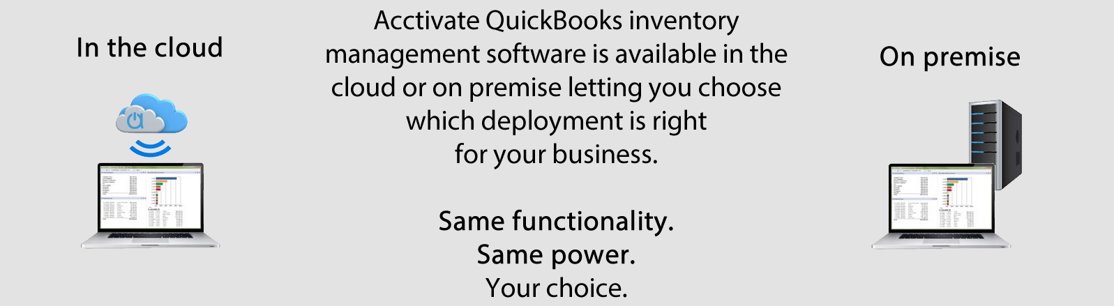 QuickBooks inventory management software for however you work