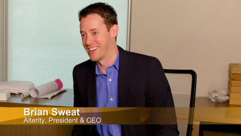 Brian Sweat, Alterity President & CEO