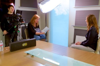 Enterprises TV filming: Michelle Barr interview