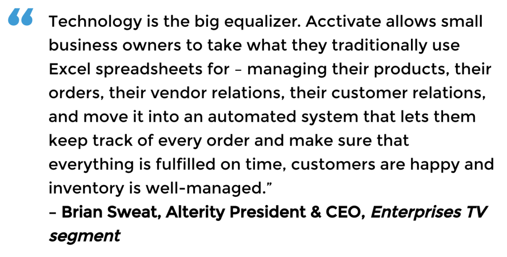 Enterprises TV quote, Brian Sweat, Alterity