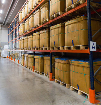 Client warehouse in need of inventory management solution