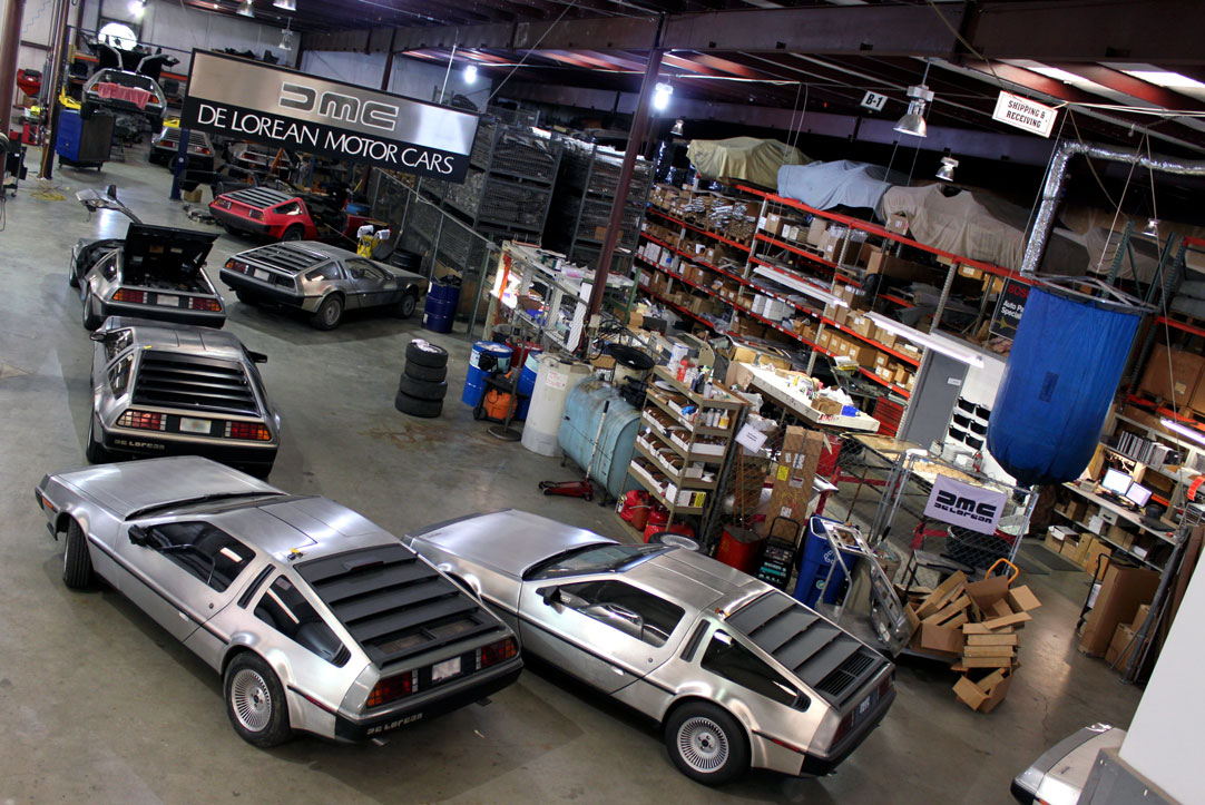 DeLorean Motor Company auto parts distributor
