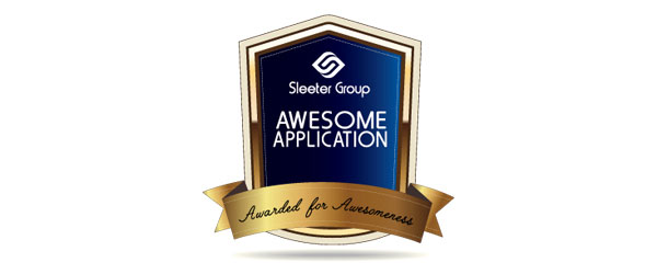 Sleeter Group Awesome Application