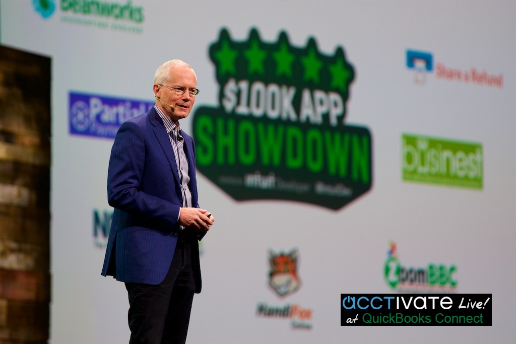 Scott Cook, Founder and Chairman of the Executive Committee of Intuit, QuickBooks Connect 2016
