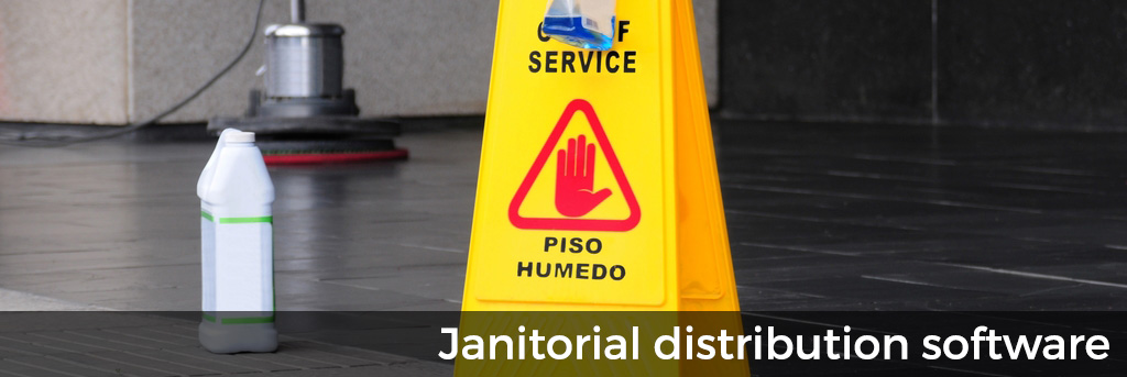 Janitorial Distribution Software for QuickBooks