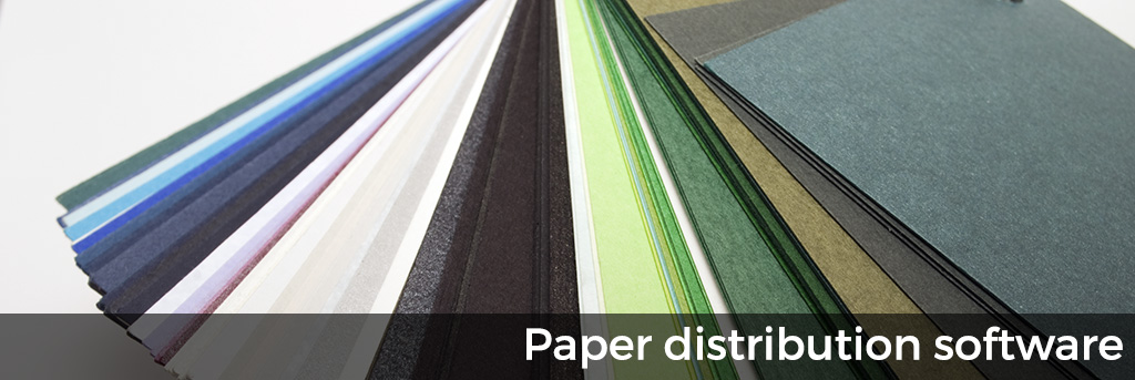 Paper distribution software for paper merchants & distributors