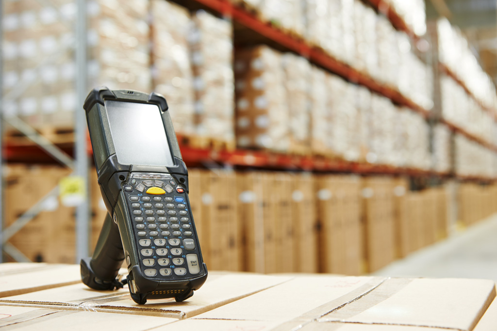 Barcoding software for warehouses