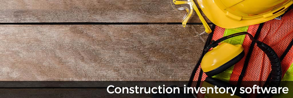 Construction inventory software