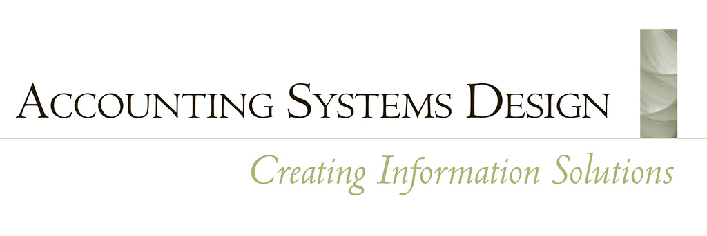 Accounting Systems Design