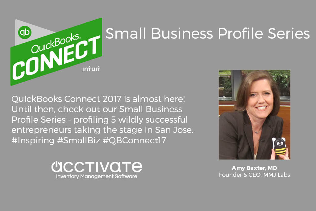 QuickBooks Connect Speaker: Amy Baxter