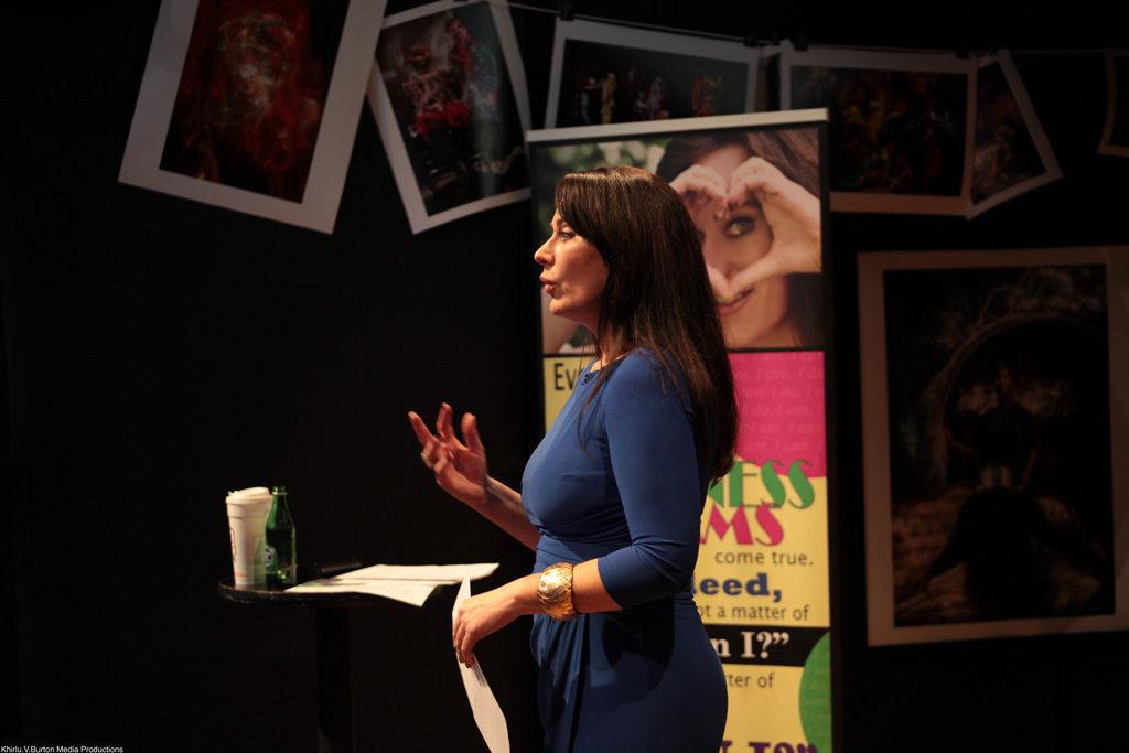 Jennifer Love, QuickBooks Connect speaker during speaking engagement.