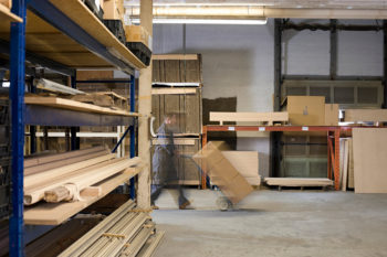 Take a warehouse mobile with lumber inventory software
